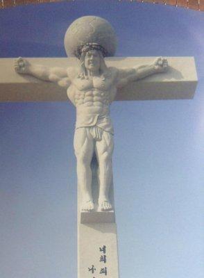 When Jesus and Western Heroism meet in Korea.jpg