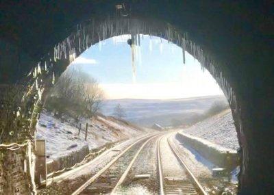 Shotlock Tunnel on the Settle - Carlisle line, Monday 11th December 2017.jpg