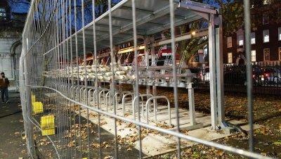 new bike racks at Euston  Nov 2018.jpg
