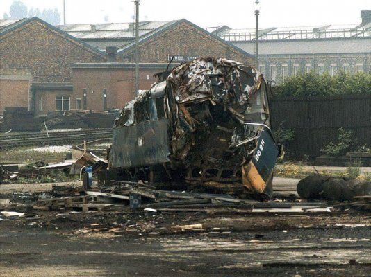 After,scrapped at crewe works.    66 .jpg